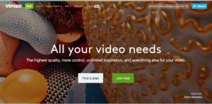 video op vimeo opladen