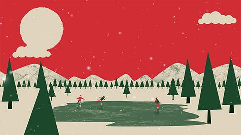 video kerstwens
